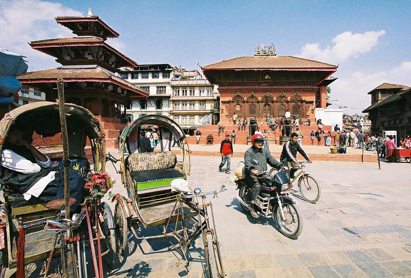Rickshaw in Durbar Square, Kathmandu