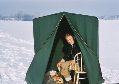 Ron Niece - Ice Fishing