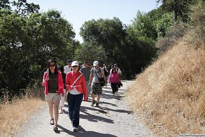Rancho San Antionio Hiking - living water 07-02-2011