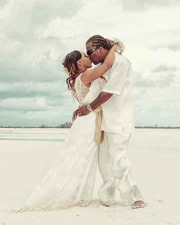 Garvin & Schaketa | Bahamas Wedding | Man-O-War Cay | Exuma Cays, Bahamas