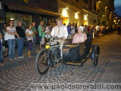 Foto sfilata borgate Palio del Golfo 2011 - Moto e corteo storico La Spezia