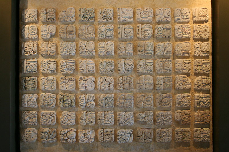 mayan writing found at palenque
