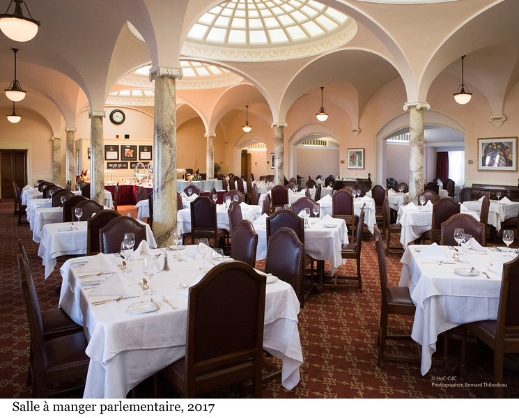 Parliamentary Restaurant - Salle à manger parlementaire, 2017