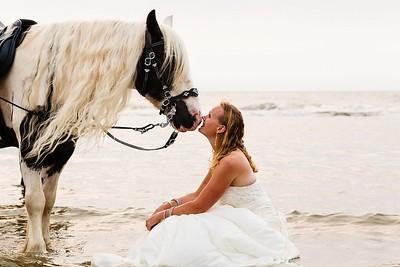 Bruids, paarden en TOP fotografen | Noordwijk