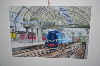 Schilderijen van de NS 1200