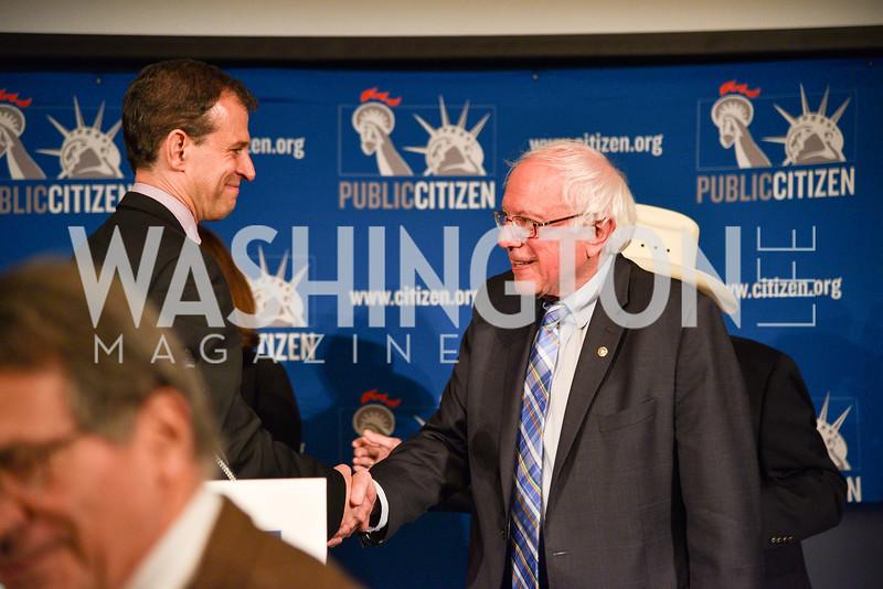 Rober Weissman, Bernie Sanders, Public Citizen's Gala, National Press Club, April 24, 2018-6501.JPG