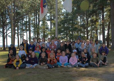 Mangum 4th Grade Field Trip, Mrs. Clark's class