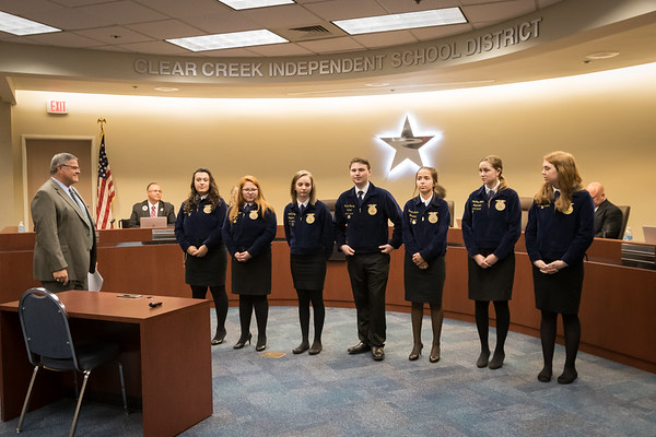 CCISD Board of Trustees March Meeting