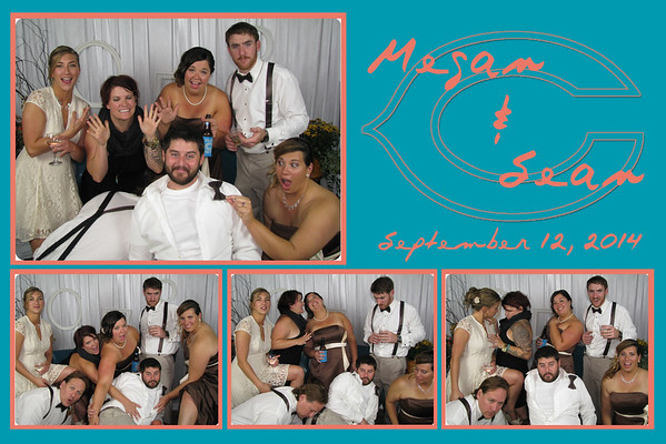 Megan and Sean September 12, 2014