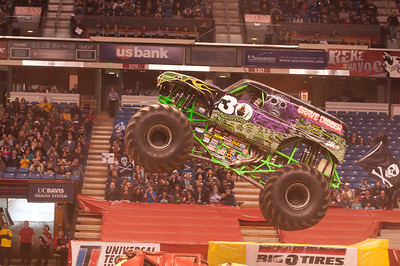 Monster Jam and freestyle mx 2012