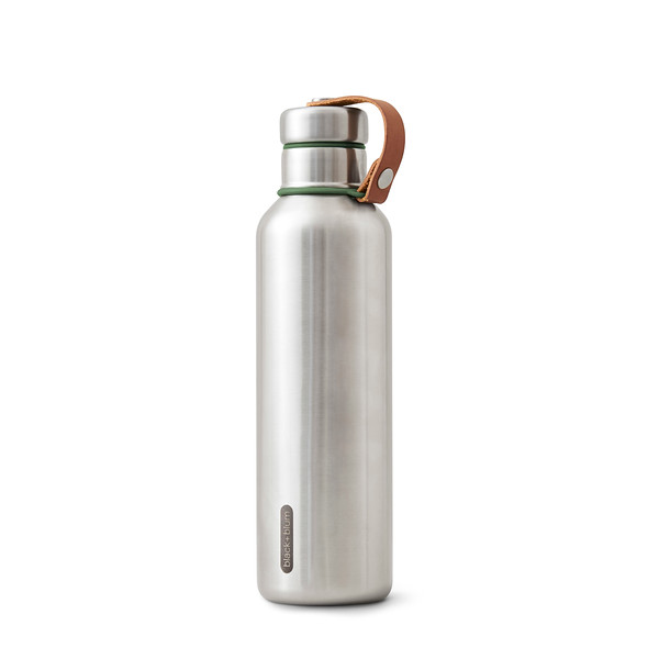 Insulated Water Bottle Large olive Black Blum