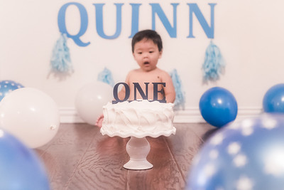 Quinn's 1 Year Session