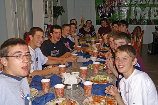 Team Dinner at Lamberts