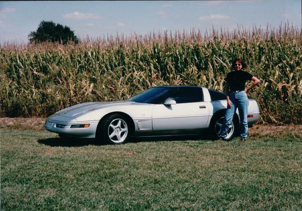 Corvette Show Effingham, IL 1996