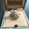 5.15ctw Old European Cut Diamond Toi et Moi Ring 10