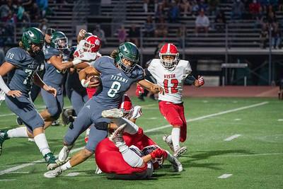 2021-09-17 Poway High Vs Vista Varsity Football Homecoming