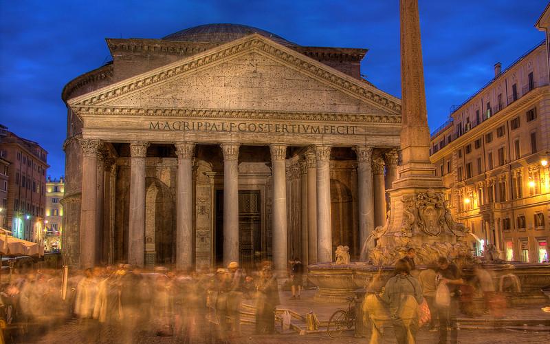 Pantheon (HDR Image)