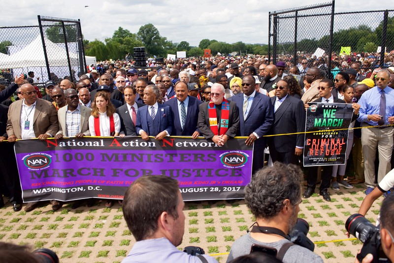 One Thousand Ministers March for Justice