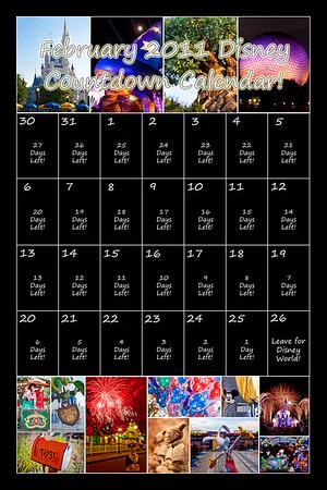 Disney Calendar
