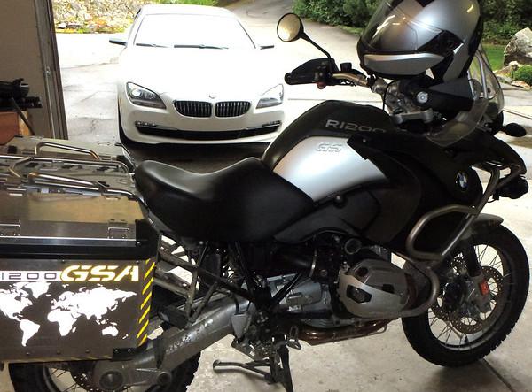 2010 BMW R1200 GSA