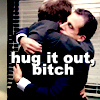 the office the coup hug it out