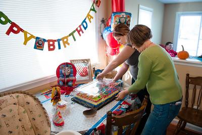Hunter's First Birthday