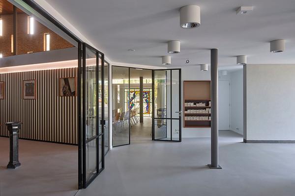 Atelier2 architecten. Interieur kerk Prinsenbeek