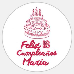 18 Cumpleaños María