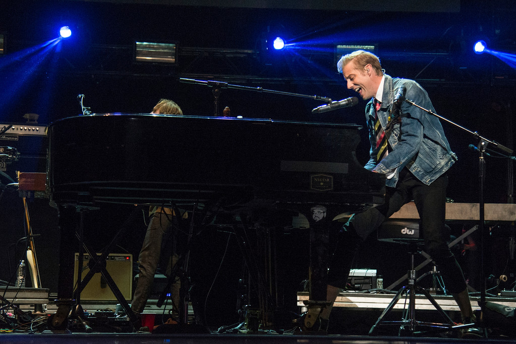. Andrew McMahon seen at 2017 Alternative Press Music Awards at the KeyBank State Theatre on Monday, July 17, 2017, in Cleveland. Andrew McMahon in the Wilderness will be part of Spring Fling V at the Agora Cleveland, June 2 and June 3. For more information, visit agoracleveland.com. (Photo by Amy Harris/Invision/AP)