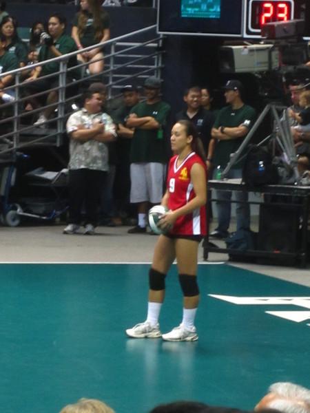 Hawaii - Wahine Volleyball Game-14.JPG