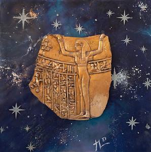 Egyptian Encaustic Square