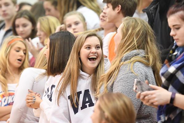 Student Crowd - Omaha Skutt Basketball game