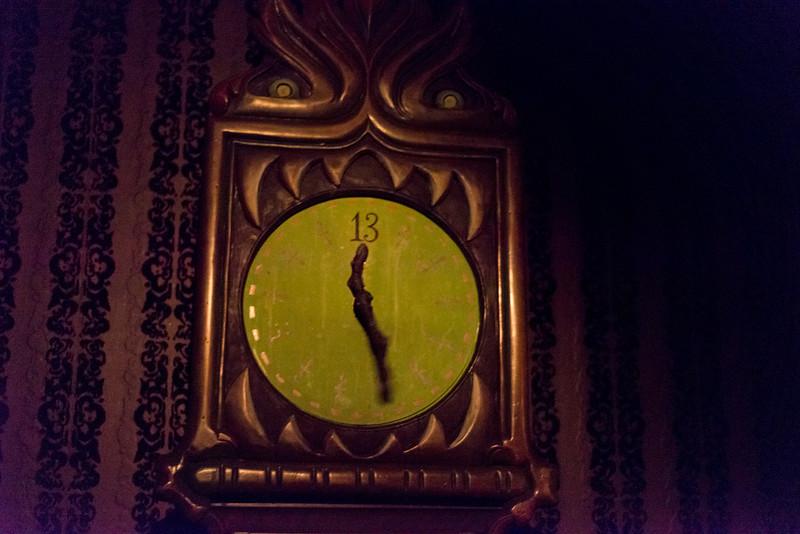 Haunted Mansion Clock - Magic Kingdom Walt Disney World