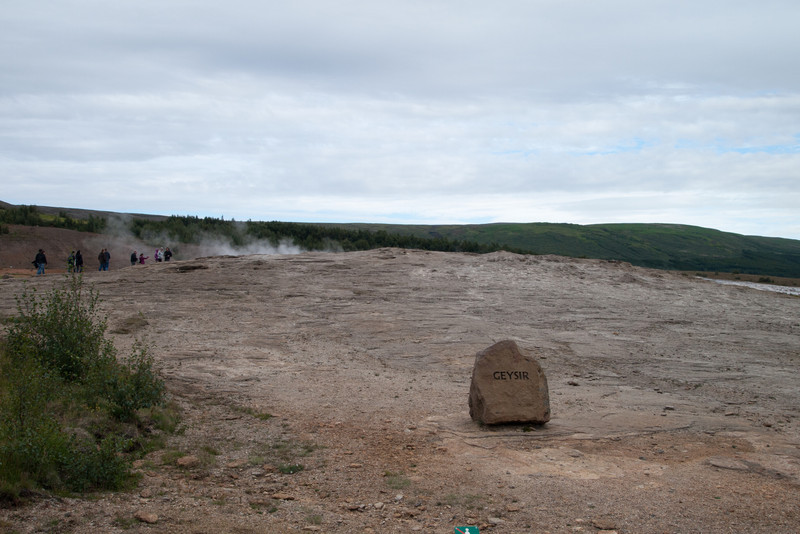 Geysir.  The word geyser originated from this geyser's name.