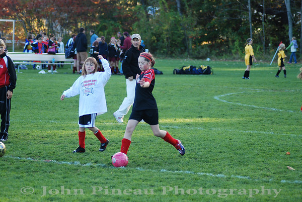 2009-10-10 Girls Soccer - South Portland Strikers vs Candia