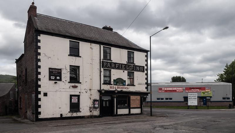 Derelict pub in Sheffield