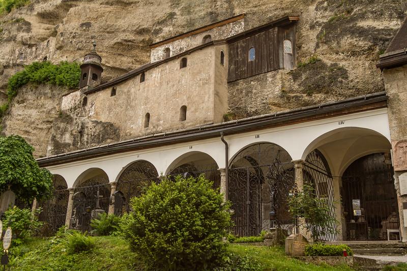 Genevieve Hathaway_Austria_Salzburg_rock monastery.jpg