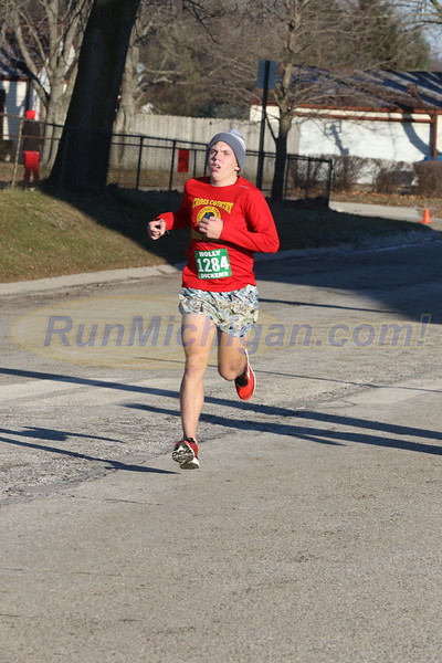 10K Finish - 2018 Run Like The Dickens