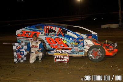 Sharon Speedway Super DIRTcar Series - 7/21/16 - Tommy Hein