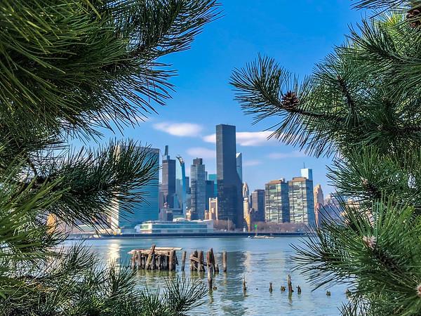 Fantastic Manhattan skyline views from Long Island City