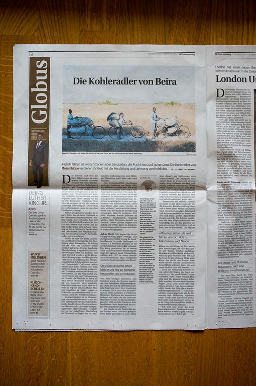 """2015-01: """"Die Presse"""" publishes """"Die Kohleradler"""""""