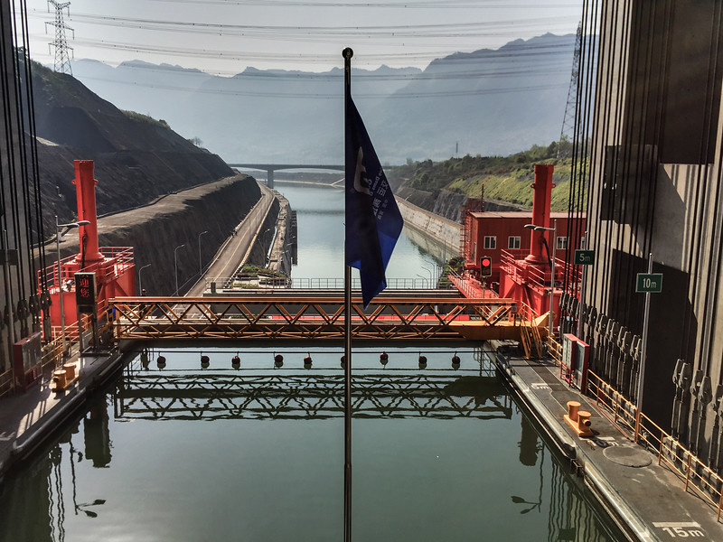 Ship Elevator, Three Gorges Dam