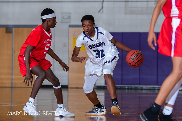 Broughton boys JV basketball vs Sanderson. February 11, 2019. 750_5608