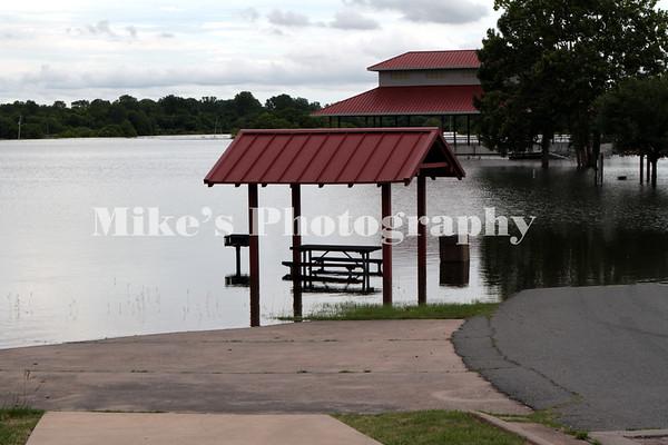 Flooding PIne Bluff - Wright June 5, 2019