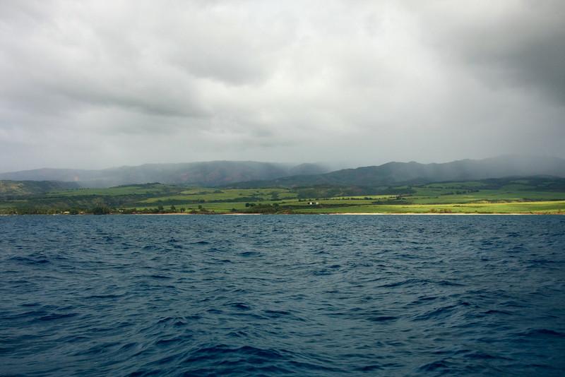 Southwestern shoreline, Kauai