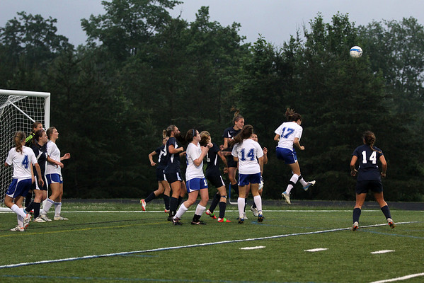 Western girls soccer beats Fluvanna 2012