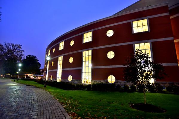Drinko Library Early Morning Oct. 2014-Rick Haye
