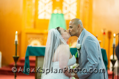 Wedding at the : St. Raphael's Catholic Church Long Island City, NY & Vetro Howard Beach, New York