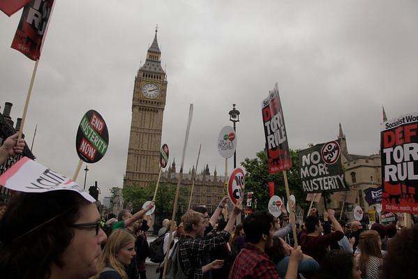 20th June 2015 Anti Austerity Demo London