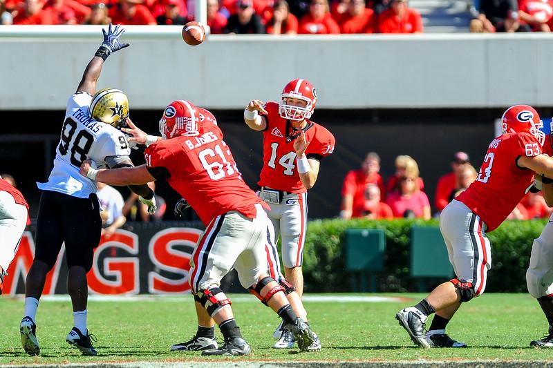 NCAA FOOTBALL 2010 - Oct 16 - Vanderbilt at Georgia